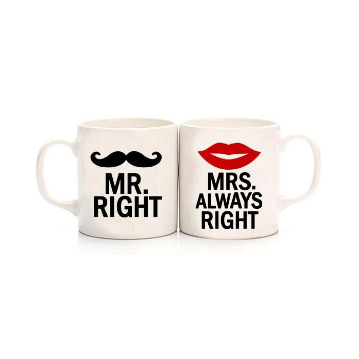 Mr.Right - Mrs.Always Right Sevgili Kupa