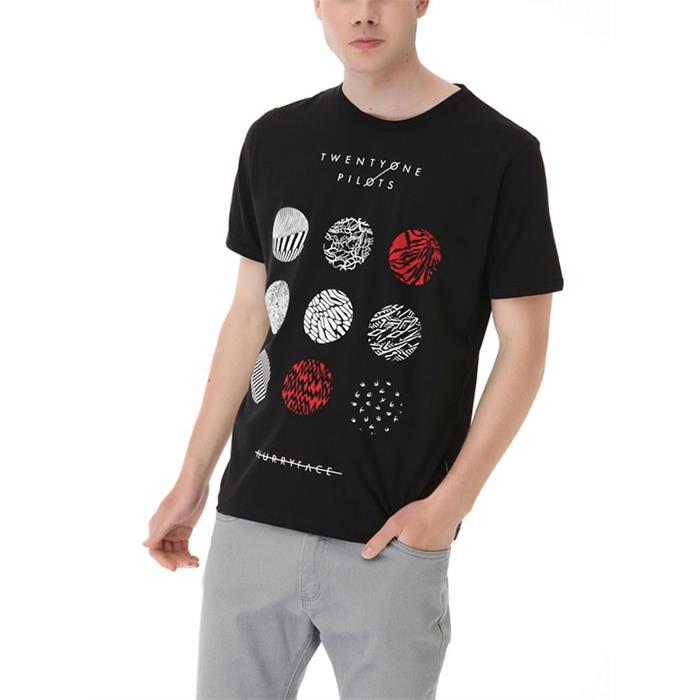 2e4cce0c68ef Twenty One Pilots - Blurryface Erkek (Unisex) T-Shirt